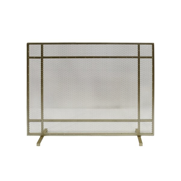 Erick 1 Panel Iron Fireplace Screen By Home Loft Concepts