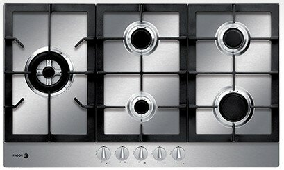 30 Gas Cooktop With 5 Burners By Fagor.