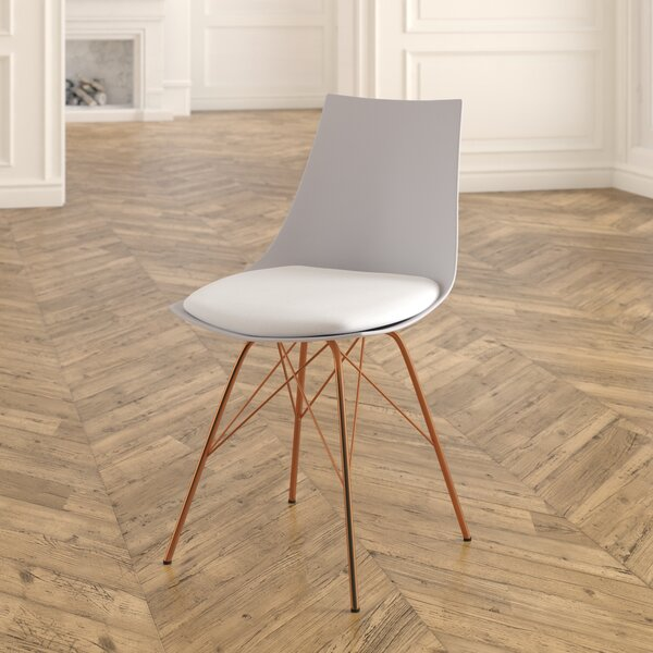 #1 Thibodeau Upholstered Dining Chair By Mistana 2019 Sale