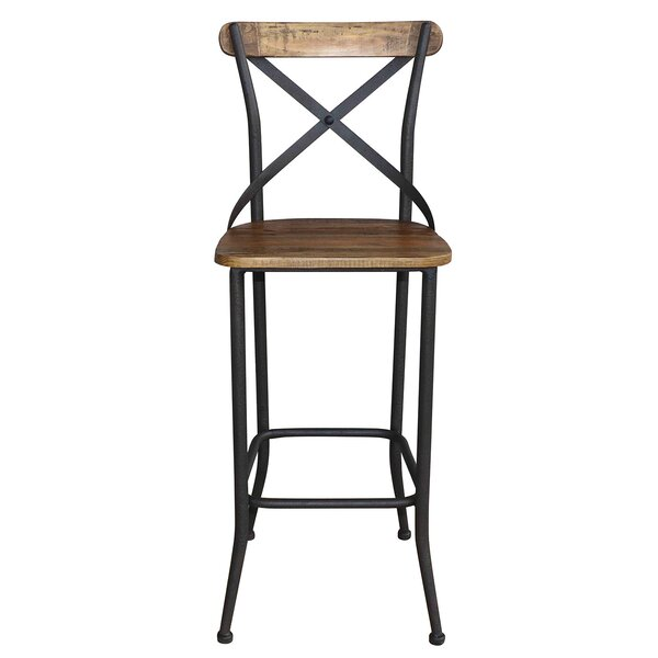 Eaker Industrial 29 Bar Stool (Set of 2) by 17 Stories