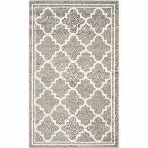 maritza dark greybeige area rug