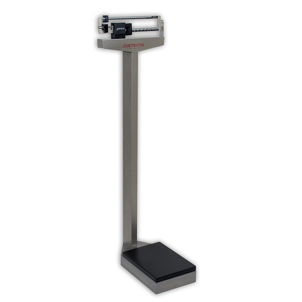 Eye Level Stainless Steel Physician Scale by Detecto