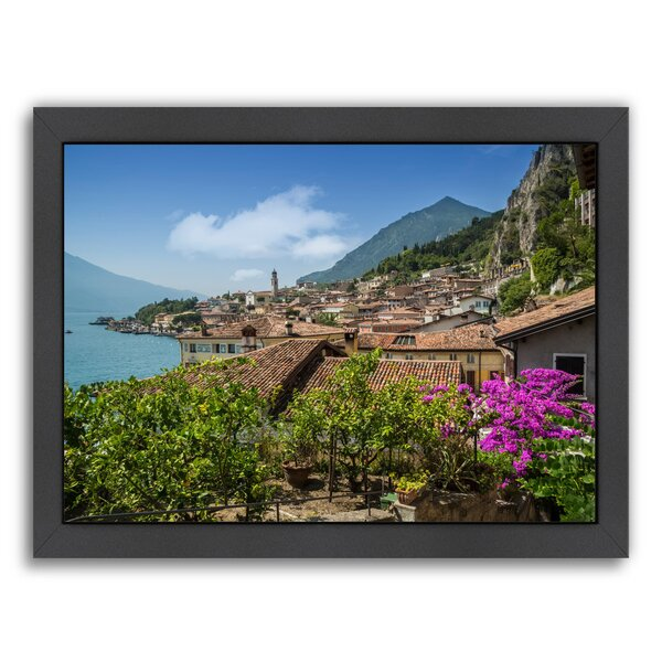 Lake Garda Limone Sul Garda Framed Photographic Print by East Urban Home