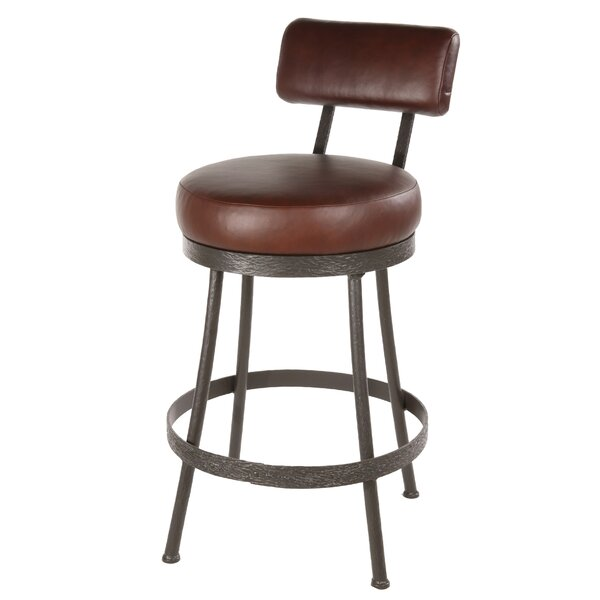 Royall 30 Swivel Bar Stool by Loon Peak