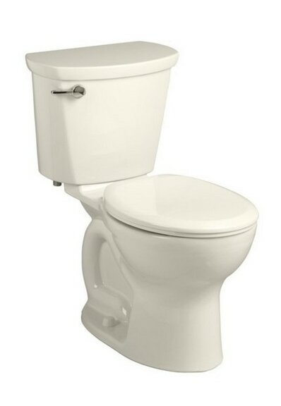 Cadet Pro Right Height 1.6 GPF Round Two-Piece Toilet by American Standard