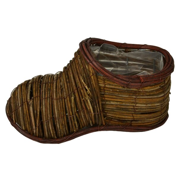 Shoe Basket Sculpture (Set of 2) by Loon Peak