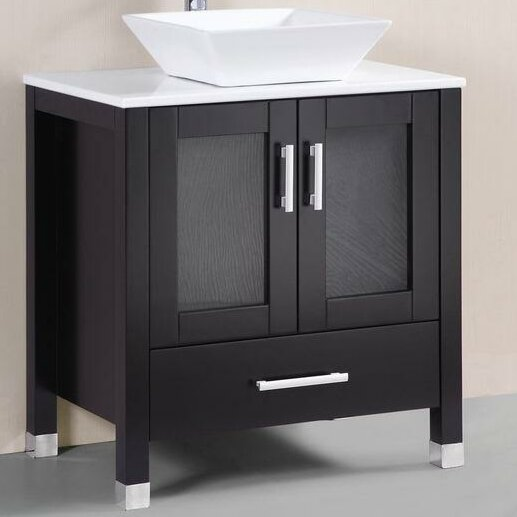 30 Single Bathroom Vanity Set by Belvedere Bath