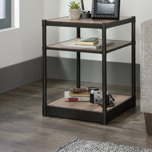Henley End Table by Three Posts