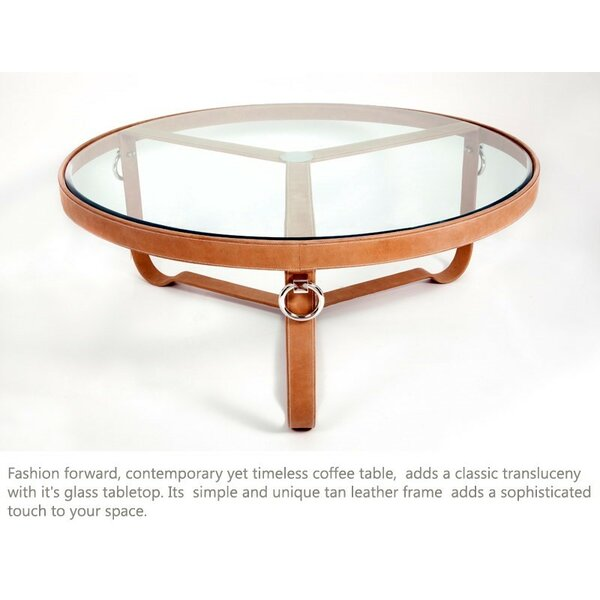 Isenberg Coffee Table by Brayden Studio