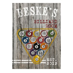 Personalized Gift Man Cave Vintage Advertisement by JDS Personalized Gifts
