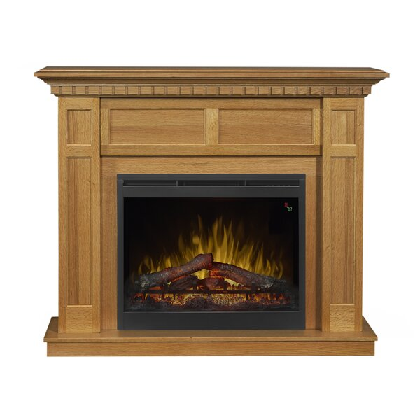 Wilson Mantel Electric Fireplace by Dimplex