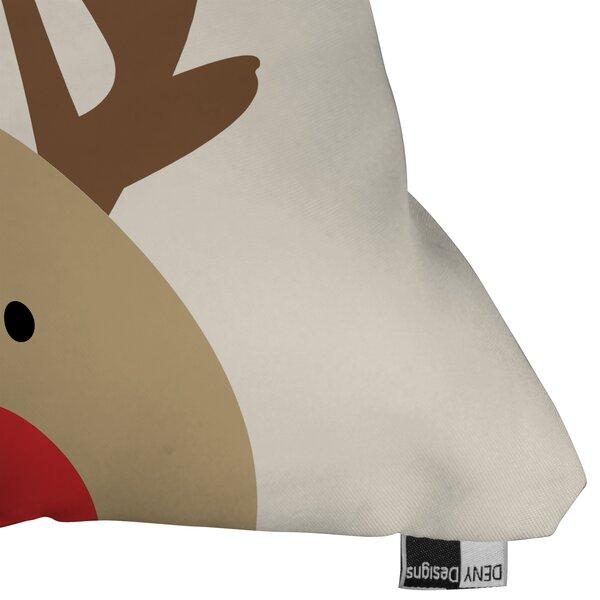 Mouton Reindeer Indoor/Outdoor Throw Pillow by Brayden Studio