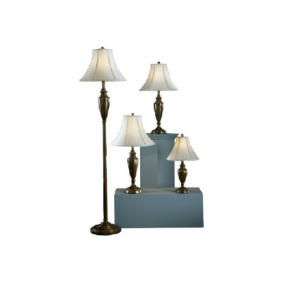 Andover Mills Peoria 3 Piece Table and Floor Lamp Set & Reviews ...