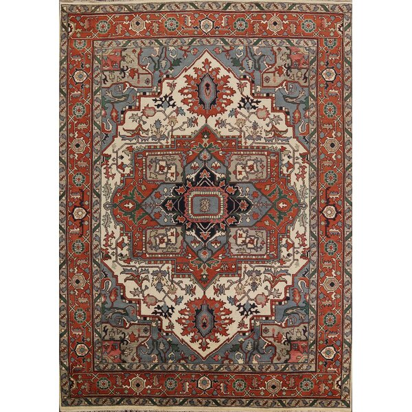 Hand Knotted Wool Gray/Brown/Beige Rug