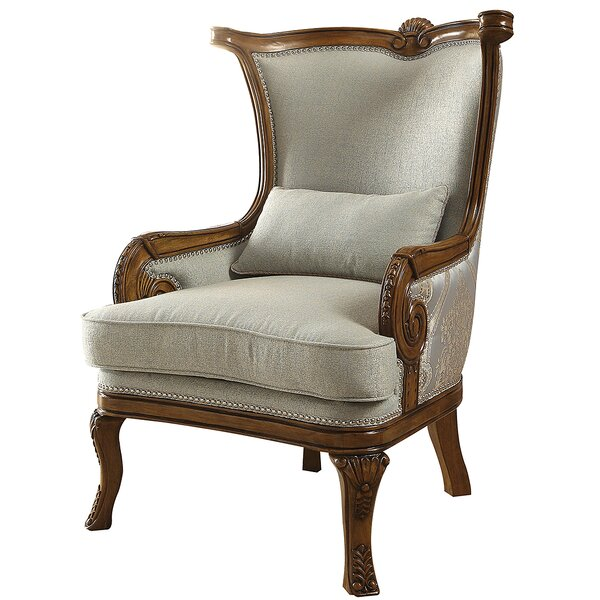 Lund Wingback Chair by Astoria Grand