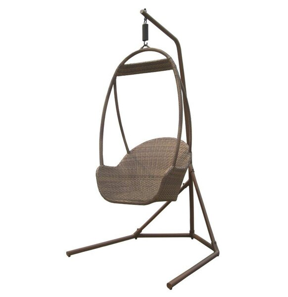 Island Cove Swing Chair with Stand by Panama Jack Outdoor