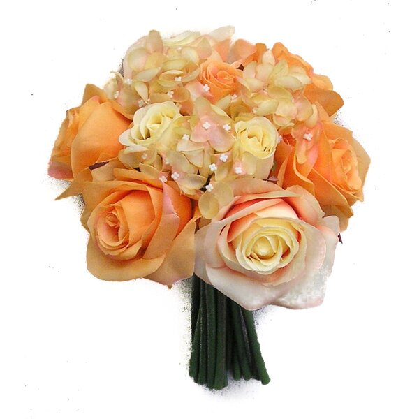 12 Stems Artificial Rose Bouquet by Willa Arlo Interiors