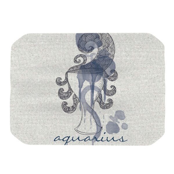 Aquarius Placemat by KESS InHouse
