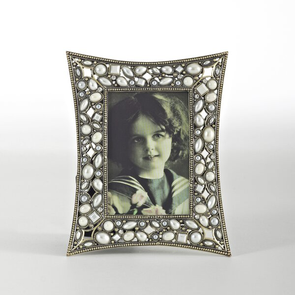 Jeweled Picture Frame by Saro