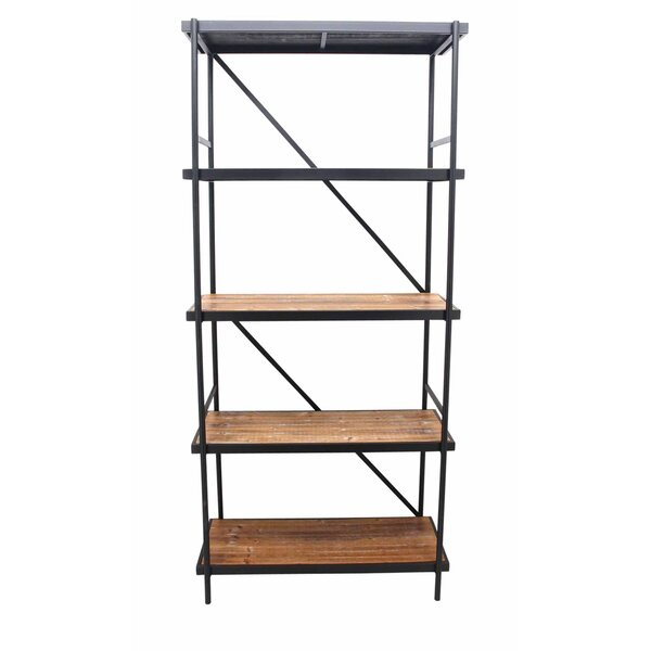 Sylvie 5-Tier Etagere Bookcase by 17 Stories
