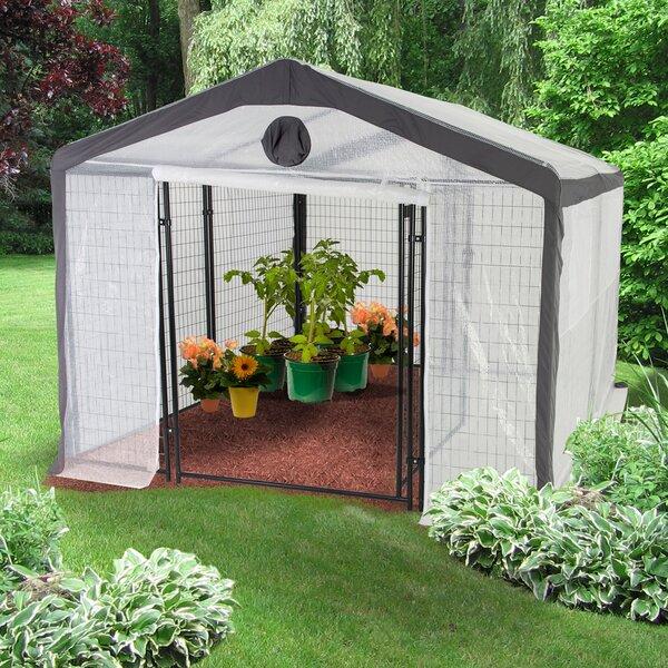 10 Ft. W x 10 Ft. D Greenhouse by Jewett Cameron