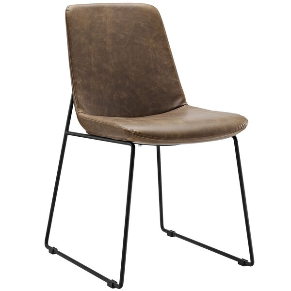 Find Invite Dining Vinyl Side Chair By Modway Design