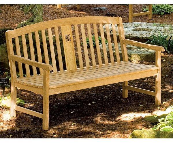 Pelican Way Wood Garden Bench by Canora Grey