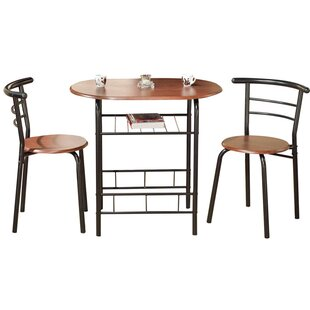 Volmer 3 Piece Compact Dining Set. By Zipcode Design