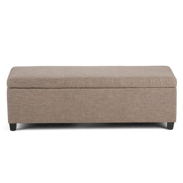 Avalon Upholstered Storage Bench by Simpli Home