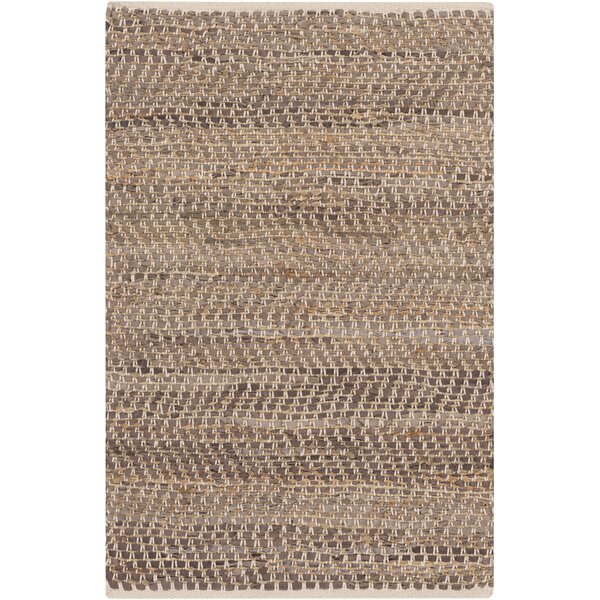 Lorna Handmade Taupe Area Rug by Beachcrest Home
