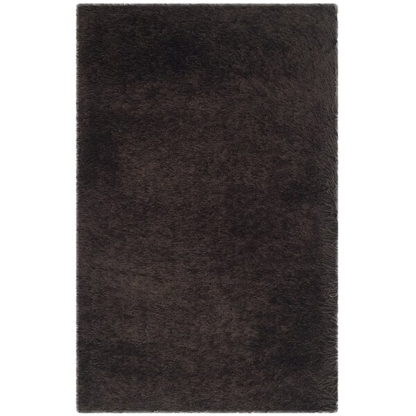 Thom Filicia Shag Hand-Tufted Brown Area Rug by Thom Filicia Home Collection