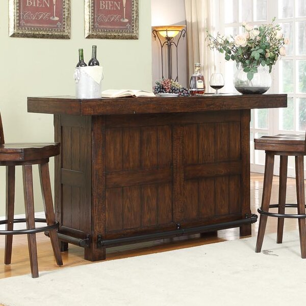Tremper Premium Bar Cabinet by Millwood Pines