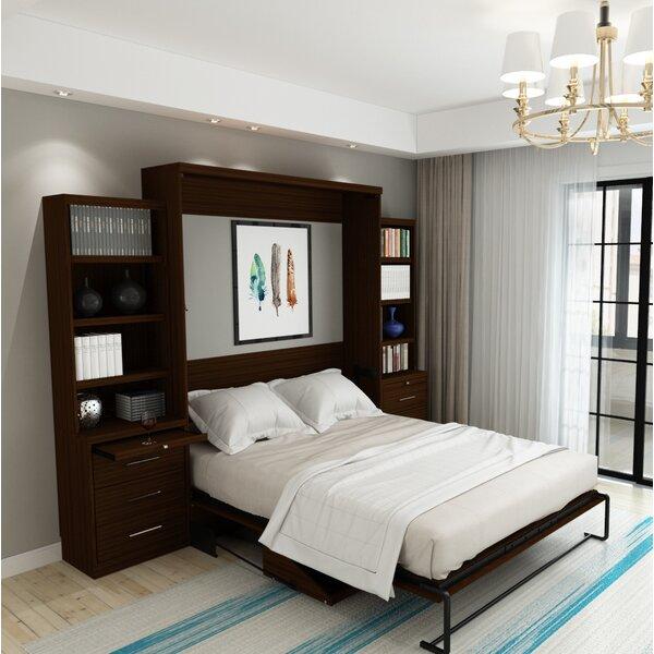 Munn Desk Queen Storage Murphy Bed by Brayden Studio Brayden Studio