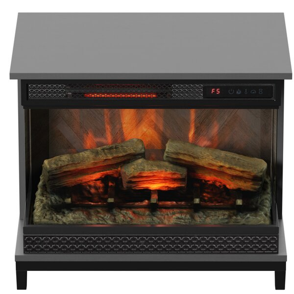 Danyell Electric Fireplace By Wrought Studio