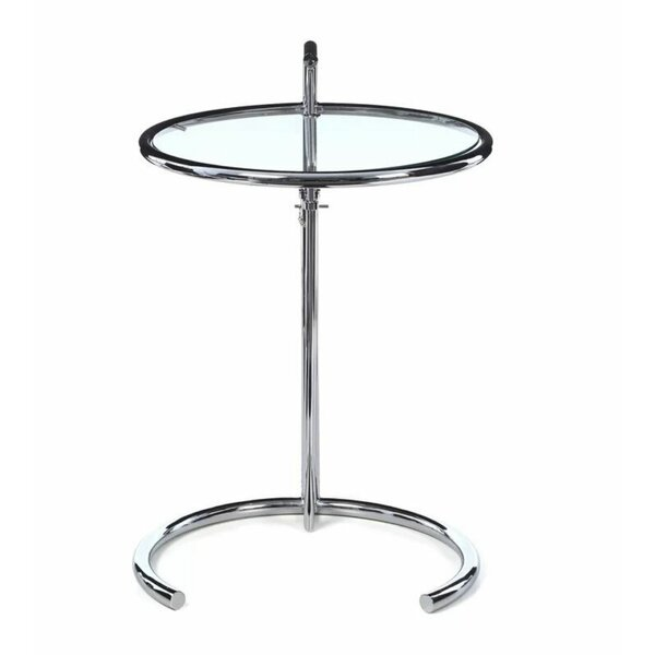 Grullon Glass Top End Table By Everly Quinn