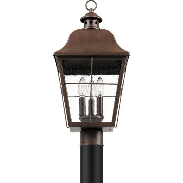 Danielson 3-Light 10 Post Light by Darby Home Co