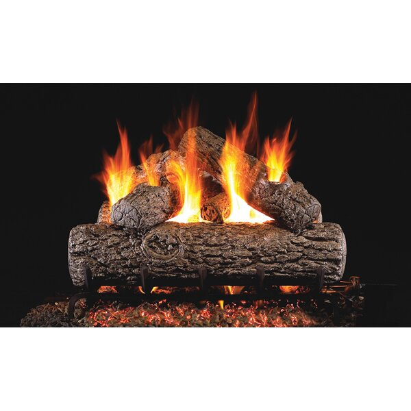 Oak Natural Gas Logs By Real Fyre