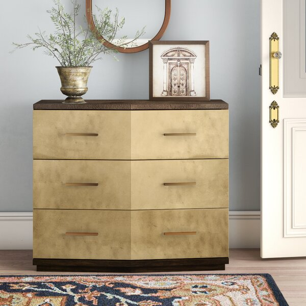 Sneed 6 Drawer Accent Chest by Everly Quinn Everly Quinn