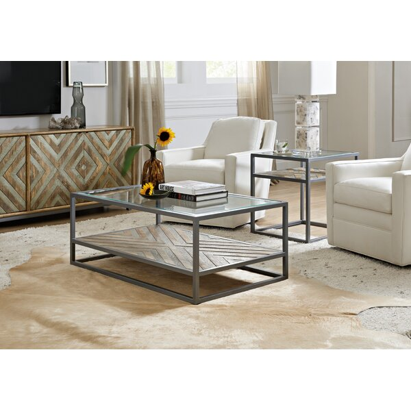 Rectangular 2 Piece Coffee Table Set By Hooker Furniture