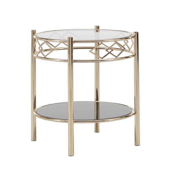 Lenard End Table By Everly Quinn