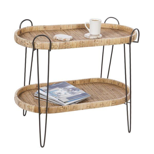 Tray Top End Table With Storage By Bay Isle Home