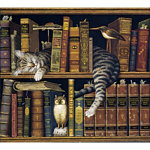 'Frederick the Literate' by Charles Wysocki Painting Print by Hadley House Co