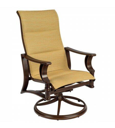 Arkadia Rocker Patio Dining Chair by Woodard