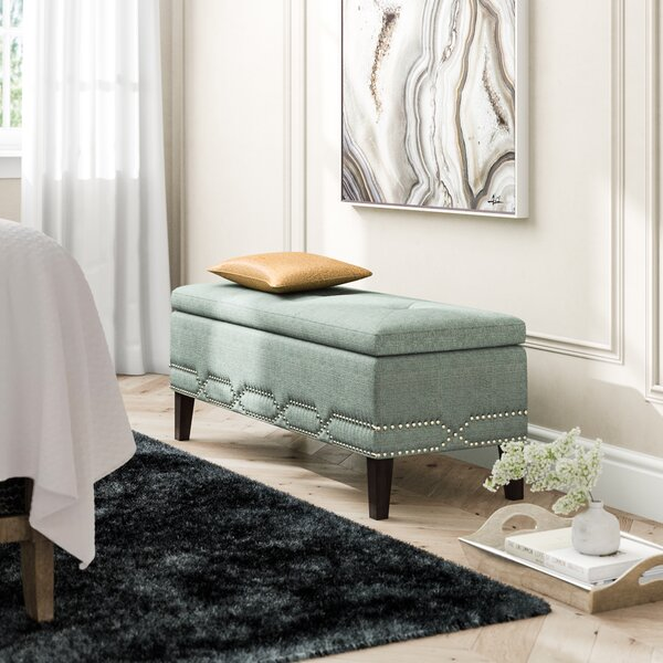 Eris Upholstered Storage Bench by House of Hampton