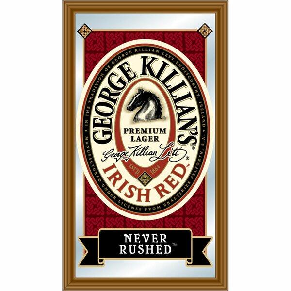 George Killian Irish Red Logo Framed Graphic Art by Trademark Global