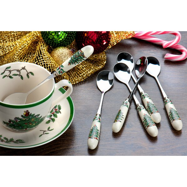 Christmas Tree Teaspoon (Set of 6) by Spode