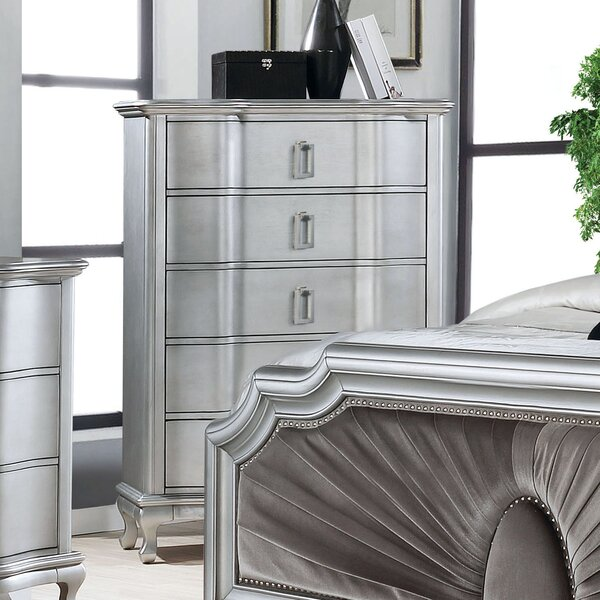Serafin 5 Drawer Chest by Everly Quinn