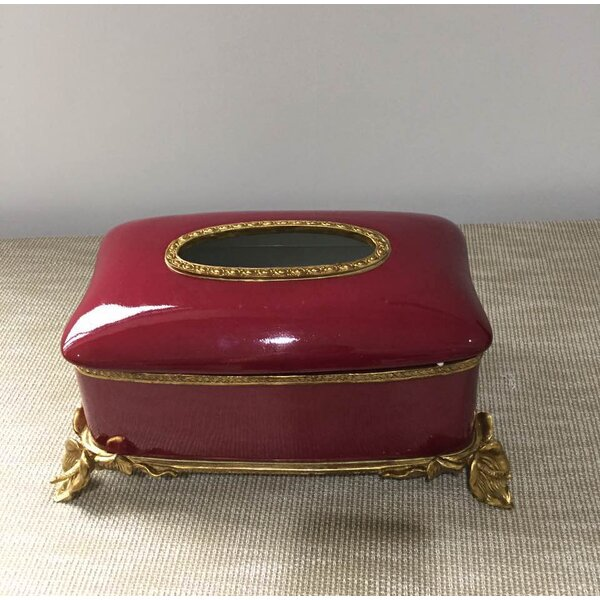 Classic Elegant Tissue Box Cover by Westmen Lights