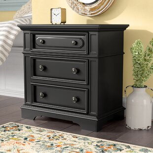 Linda 3 Drawer Nightstand by Darby Home Co