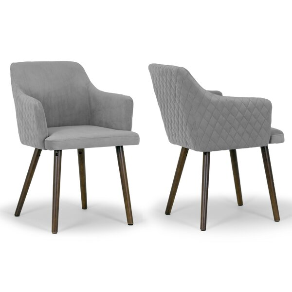 Albany Arm Chair (Set of 2) by Glamour Home Decor